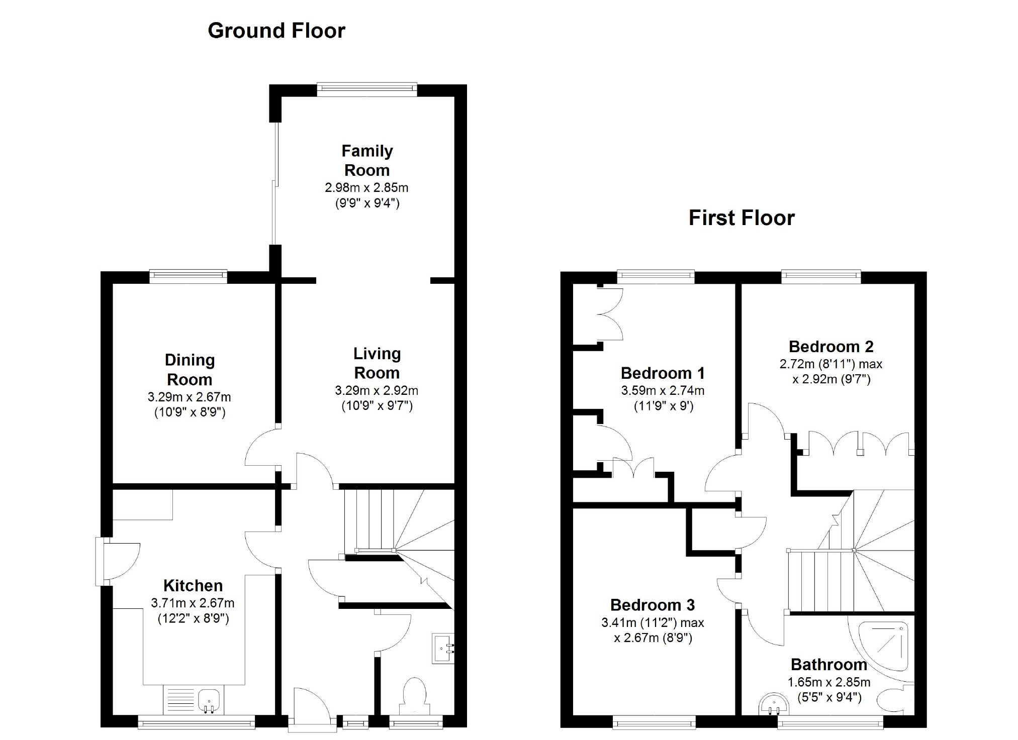 Overbrook Eldene Wiltshire Sn3 3 Bedroom Semi Detached