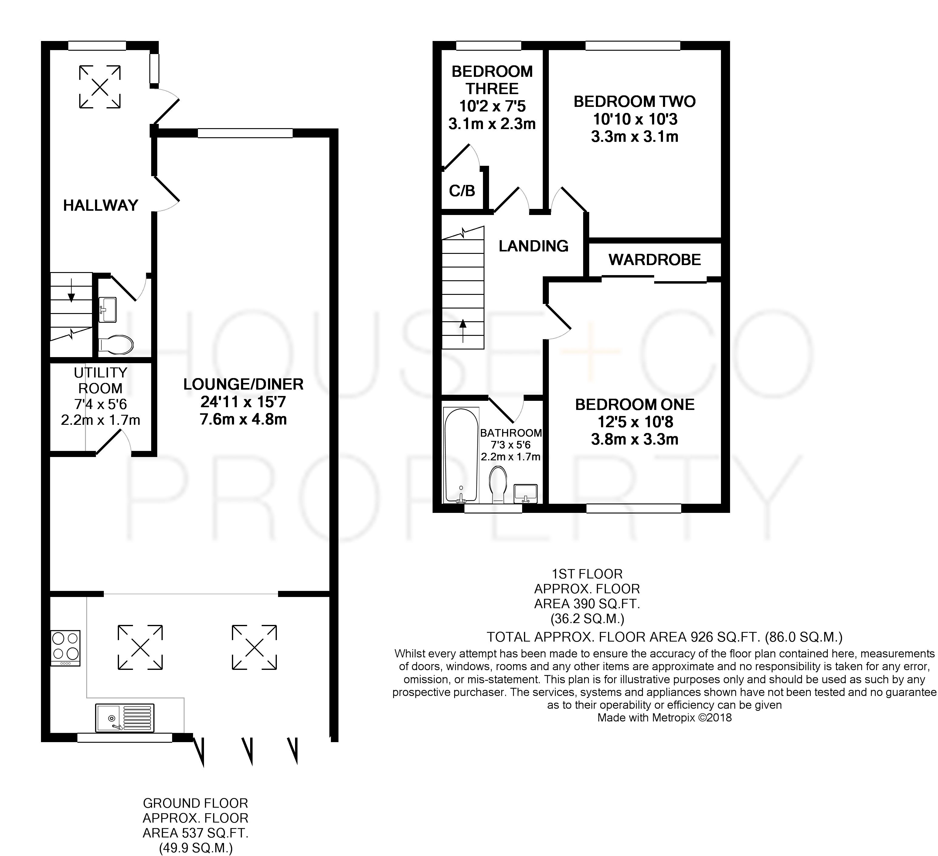 3 Bed Terraced House For Sale In Beaufort Road St George Bristol Natwest Wiring Instructions Floorplan 1