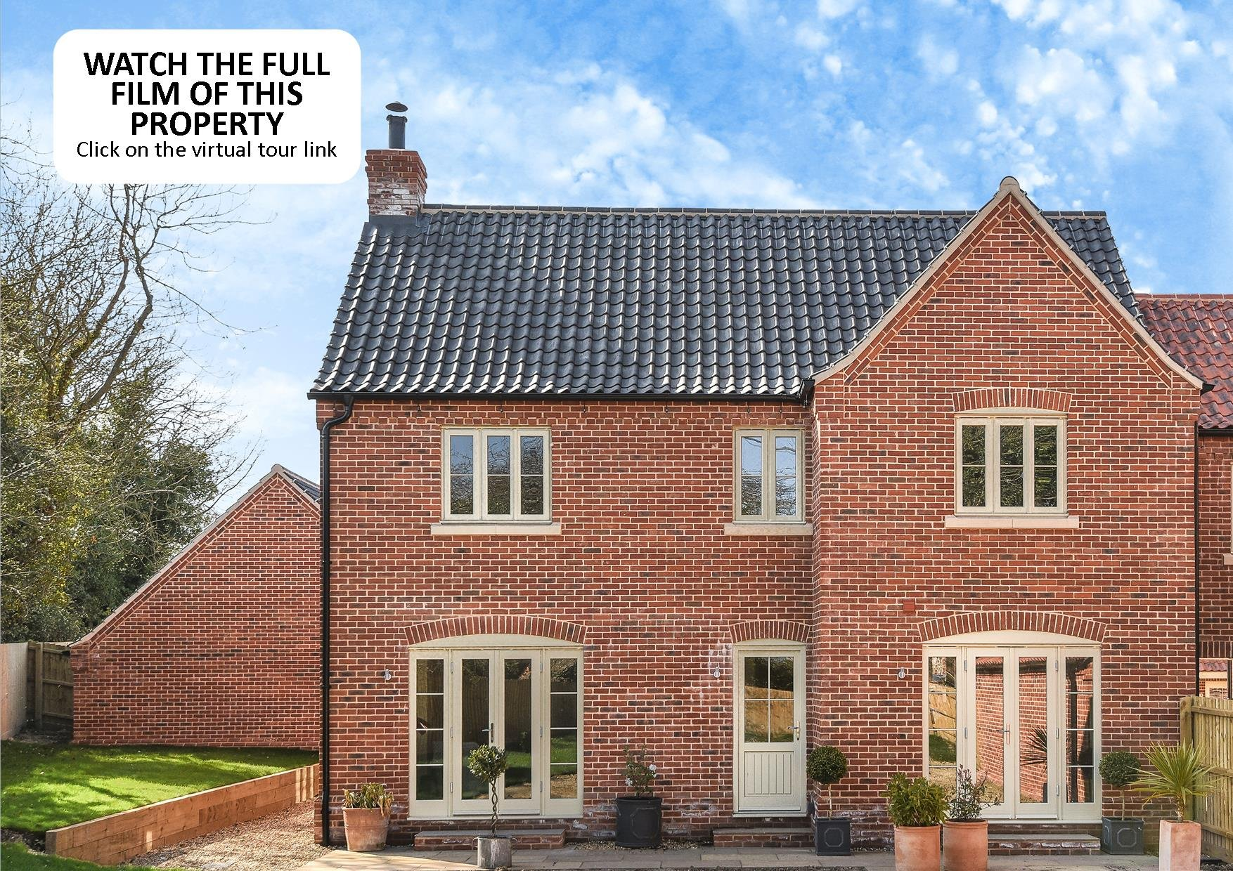 The Street Weybourne Holt Nr25 4 Bedroom Link Detached House For Full Brick Brand New Home On Wiring To Garage Sale 45945469 Primelocation